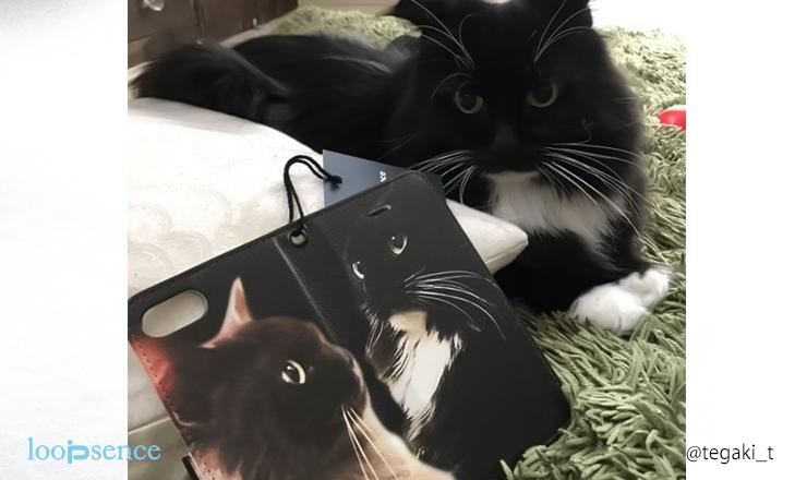 ループセンス猫のオーダースマホケース作品の思い出
