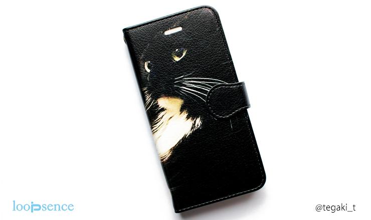 ループセンス猫のオーダースマホケース作品