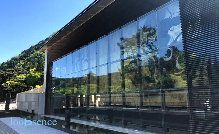ゴールデンウィークに箱根・小涌谷にある美術館、岡田美術館に行ってきました