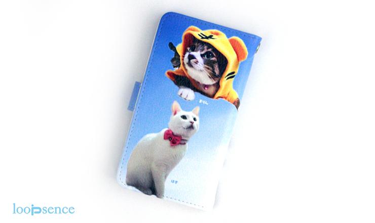 ループセンス愛猫のオーダースマホケース作品