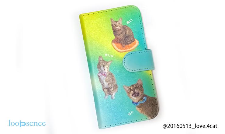 ループセンス猫のオーダーケース制作