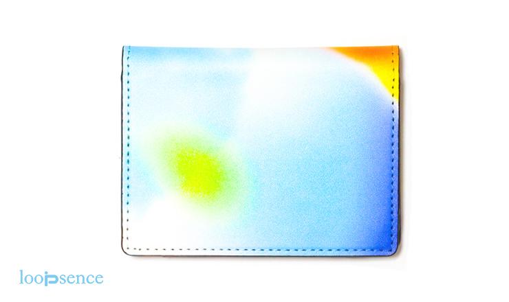 ループセンスオリジナルカードケース「happiness」