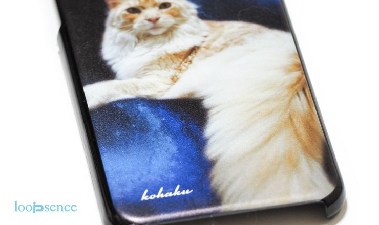 猫のオーダースマホケース作品