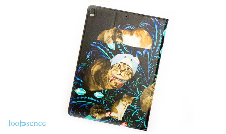 猫のオリジナルiPadケース